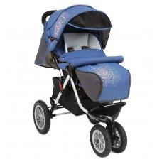 Прогулочная коляска Capella S-901WF Air Disco (син-серый)